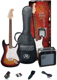 SX Electric Guitar Pack and Amp (3TS) - Cover
