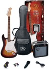 SX Electric Guitar Pack and Amp (3TS)