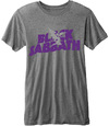 Black Sabbath - Logo & Daemon Mens Grey T-Shirt (Small)