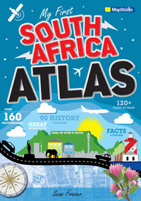 My First South Africa Atlas - Sean Fraser (Paperback) - Cover