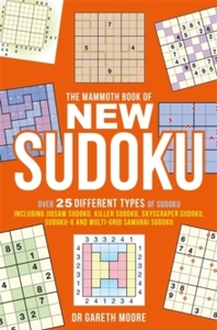 Mammoth Book of New Sudoku - Gareth Moore (Paperback) - Cover