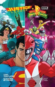 Justice League / Power Rangers - Tom Taylor (Hardcover) - Cover