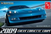 AMT - Corvette Coupe 2009 1/25 (Plastic Model Kit) - Cover