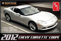 AMT - Chevy Corvette Coupe Show Room Replica 2012 1/25 (Plastic Model Kit) - Cover