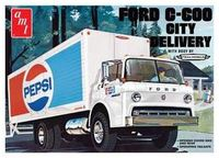 AMT - Ford C600 Pepsi Delivery Truck 1/25 (Plastic Model Kit) - Cover