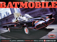 Polar Lights - Batmobile Deluxe 1966 with Figures & P Etched Parts 1/25 (Plastic Model Kit) - Cover