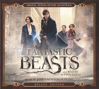 Fantastic Beasts and Where to Find Them - Original Soundtrack (CD) - Cover