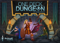 One Deck Dungeon (Card Game) - Cover