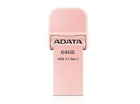 ADATA - AI920 64GB USB 3.0 (3.1 Gen 1) Type-A Rose Gold USB flash drive