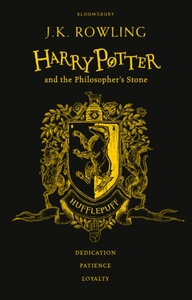 Harry Potter and the Philosopher's Stone - Hufflepuff Edition - J. K. Rowling (Hardcover) - Cover