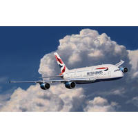 Revell - 1/288 - Airbus British Airways A380 Easykit (Plastic Model Kit)