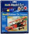 Revell - 1/72 - Fokker DR.1 Triplane (Plastic Model Set)