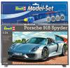 Revell - 1/24 - Porsche 918 Spyder Model Set (Plastic Model Kit)