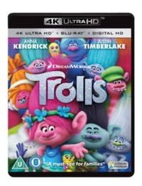 Trolls (Ultra HD Blu-ray) - Cover