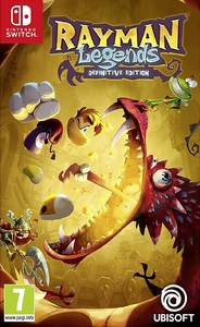 Rayman Legends: Definitive Edition (Nintendo Switch) - Cover