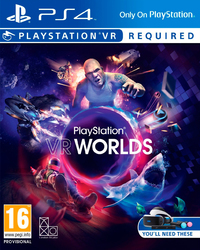 PlayStation VR Worlds (PS4) - Cover