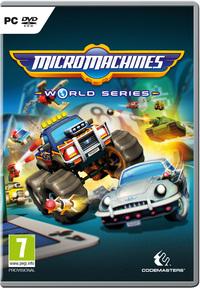 Micro Machines: World Series (PC) - Cover