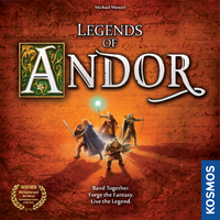 Legends of Andor (Board Game) - Cover