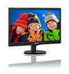 Philips - 19.5 inch HD LCD/TFT Matt Black LED Monitor