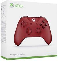 Microsoft - Xbox One Wireless Controller - Red (Xbox One/Windows 10) - Cover