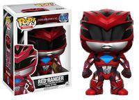 Funko Pop! Movies - Power Rangers Red Ranger Vinyl Figure (2017 Movie) - Cover