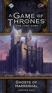 A Game of Thrones: The Card Game (Second Edition) - Ghosts of Harrenhal (Card Game) - Cover