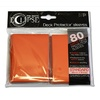 Ultra Pro Standard Sleeves - Eclipse - Orange (80 Sleeves)