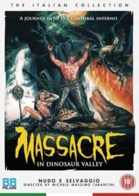 Massacre in Dinosaur Valley (DVD) - Cover