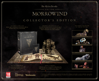 The Elder Scrolls Online: Morrowind - Collector's Edition (PC) - Cover