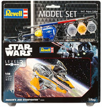 Revell - 1/58 - Star Wars - Anakin's Jedi Star Fighter (Plastic Model Set) - Cover