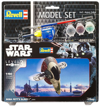Revell - 1/160 - Star Wars: Boba Fett's Slave 1 Model Set (Plastic Model Kit) - Cover