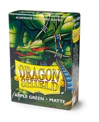 Dragon Shield - Japanese Size Sleeves - Matte Apple Green (60 Sleeves) - Cover