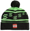 Minecraft Creeper TNT Beanie - One Size - Green/Black