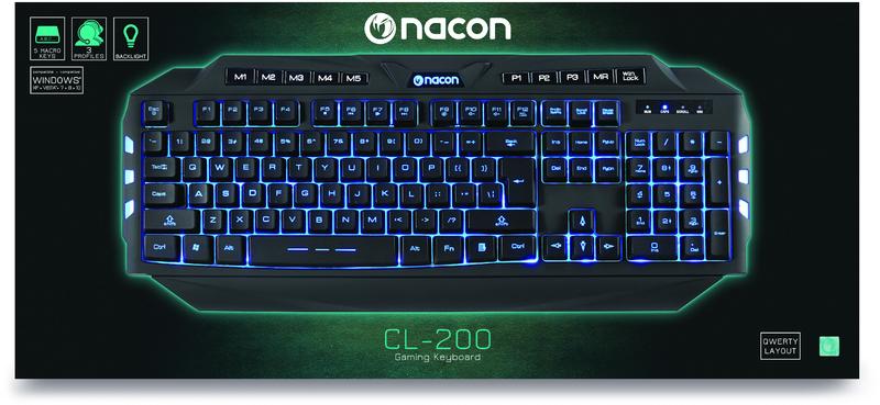 Nacon - Gaming Keyboard CL-200...