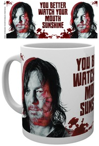 The Walking Dead - You Better Watch Your Mouth Sunshine Boxed Mug - Cover