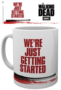 The Walking Dead - We're Just Getting Started Boxed Mug - Cover