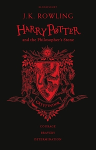Harry Potter and the Philosopher's Stone - Gryffindor Edition - J. K. Rowling (Hardcover) - Cover