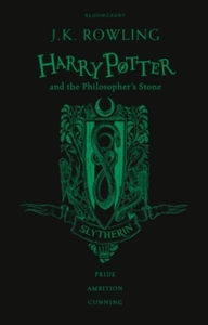 Harry Potter and the Philosopher's Stone - Slytherin Edition - J. K. Rowling (Hardcover) - Cover