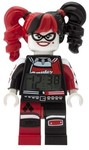 LEGO Clictime - LEGO Batman Movie - Harley Quinn Figure Alarm Clock