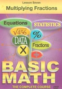 Basic Maths - Multiplying Fractions (DVD) - Cover