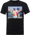 Biggie Smalls Sky's the Limit Mens Black T-Shirt (X-Large)