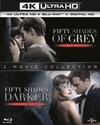 Fifty Shades: 2-movie Collection (4K Ultra HD + Blu-ray)