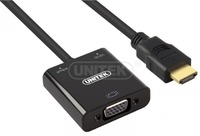 Unitek 3-In-1 HDMi To VGA With Audio - Cover