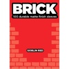 Legion Brick Sleeves - Goblin Red (100 Sleeves)