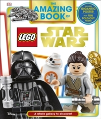 Amazing Book of Lego (R) Star Wars - David Fentiman (Hardcover) - Cover