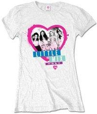 Little Mix Spraycan Ladies T-Shirt - White (Medium) - Cover