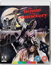 The House By the Cemetery (Blu-ray) - Cover