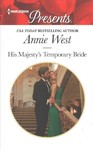 His Majesty's Temporary Bride - Annie West (Paperback)