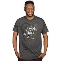 Overwatch Men's Winston: Humanity's Champion Premium T-Shirt - Charcoal Heather (XXX-Large)