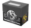 BCW Tandem Plastic Deck Case - Black